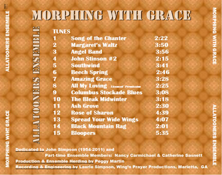 Allatooner Ensemble CD Back